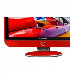 TV full HD SCHNEIDER LED32RED 82cm rouge