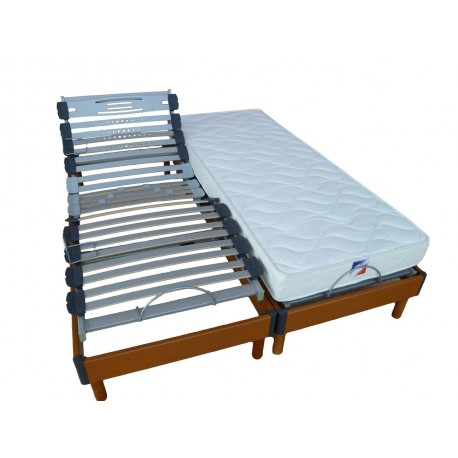 Sommier STOCKHOLM Relaxation 2x80x200